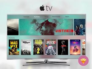 Apple TV 2015 UI in Sketch