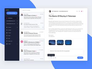 Mail Client App Concept
