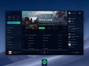 Spotify App Concept