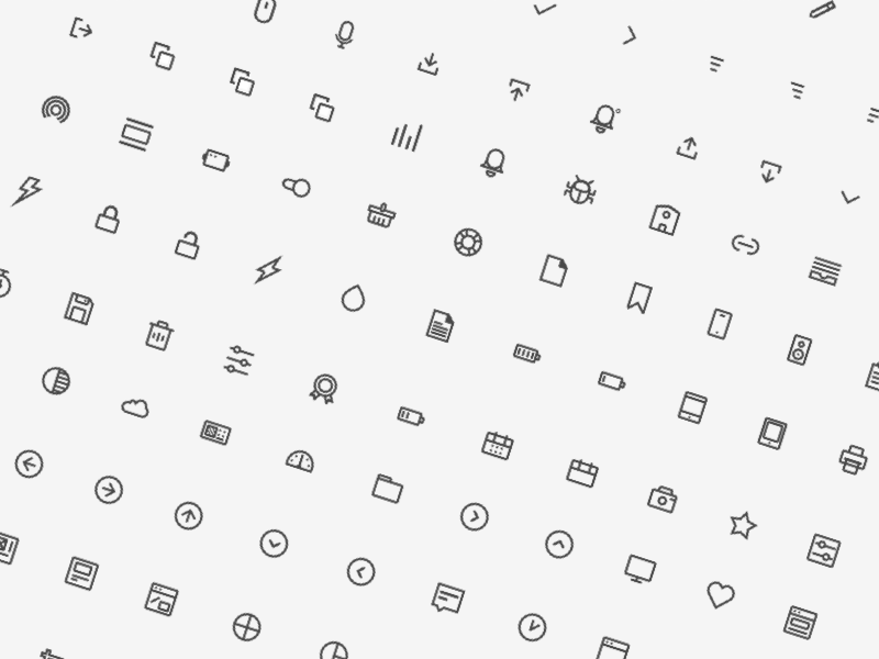 144 Line Icons Sketch Resource