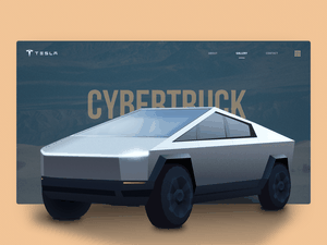 Cybertruck Illustration Sketch Resource