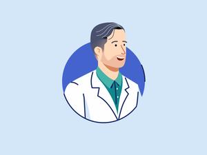 Doctor Profile Illustration Sketch Resource