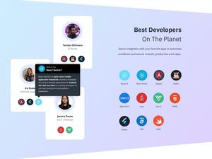 Development Frameworks Icons Sketch Resource