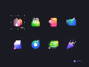 Glass Icons Pack