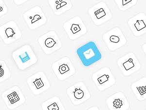 150 Basic Interface Icons