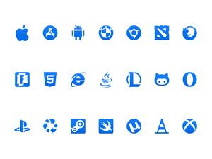 Platform Logos Sketch Resource