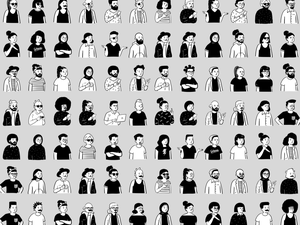 Hand-drawn Illustrations Library Sketch Resource