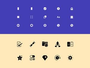 Plaster Icons Set