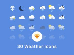 Пакет значков погоды