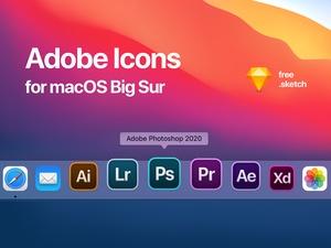 Adobe Icons Alternative for macOS Big Sur