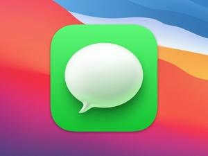 Messages Icon macOS Big Sur