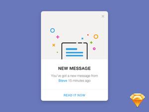 Flash Message Concept