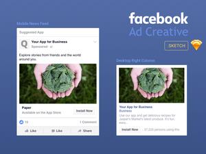 Facebook Ad Creative Template