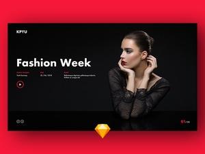Fashion Week Slide Template