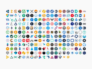 Cryptocurrency Logos SVG