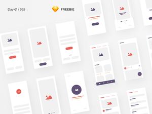 iBlocks – iOS Wireframe Kit