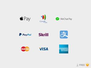 Payment Companies Logos