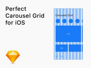iOS Carousel Grid