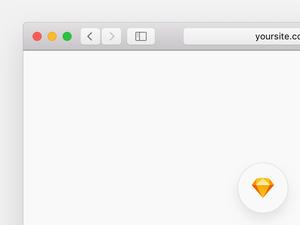 Safari Browser Template