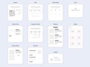 Flowchart & Sitemap Graphics Kit