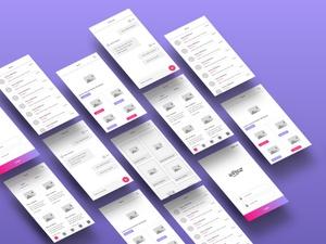Free App Wireframe Kit for Sketch: Wirez