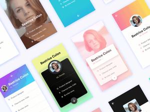 10 User Profiles UIs