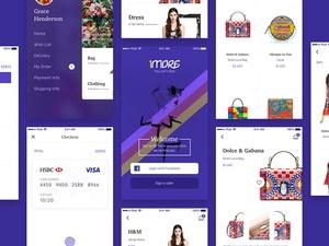 1more Store App Sketch Resource