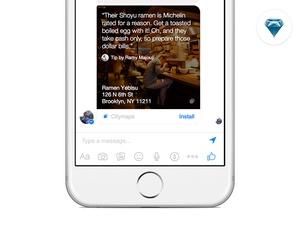 Citymaps + Facebook Messenger