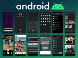 Android 10 UI Kit Sketch Resource