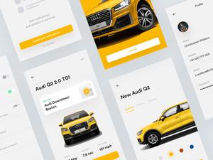 Audi Shop App