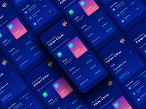 Bank / Finance App Concept