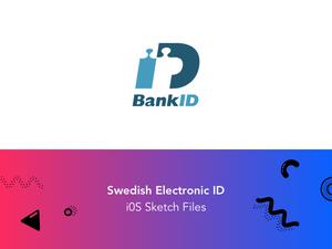 BankID - Schwedische elektronische ID-Sketchnressource