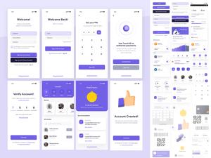 Uimates Bankee UI Kit Sketch Resource