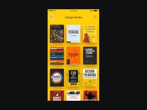 Book App – Sketch & Principle