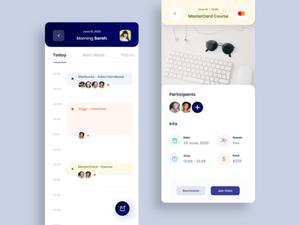 Calendar App Concept Sketch Resource