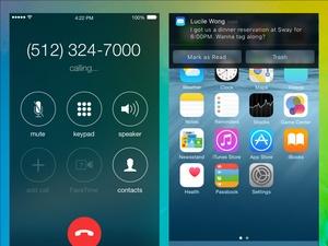 Calling + Interactive Notification