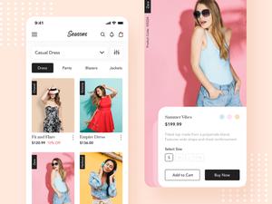 Fashion Concept Screens Sketch Resource