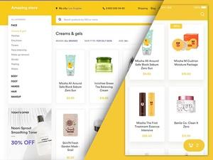 eCommerce UI Kit Sketch Resource