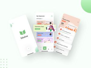 Learning App Concept – Edulive