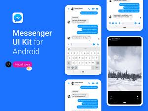 Facebook Messenger UI Kit 2019