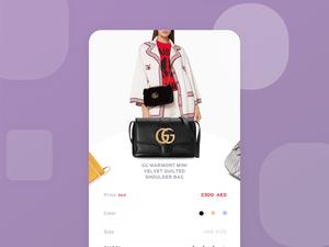 Fashion Shopping Screen