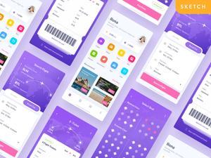Flight App UI Concept