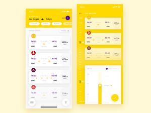 Flight App UI