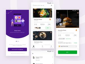 Food App UI Concept