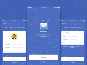 Mimium Messenger App
