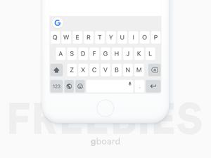 Gboard-Tastatur-Sketchnressource