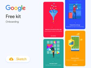 Google Onboarding Illustrations