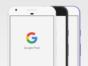 Google Pixel Mockup Sketch Resource