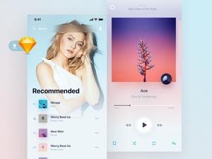 Holo Music App Kit Light
