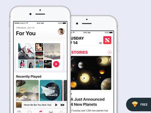 iOS 10 – Music & News